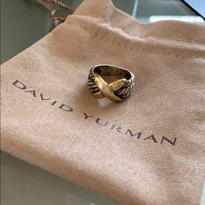 David Yurman Vintage X Ring